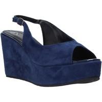 kengät Naiset Sandaalit ja avokkaat Esther Collezioni ZC 042 Sininen