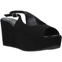 kengät Naiset Sandaalit ja avokkaat Esther Collezioni ZC 042 Musta