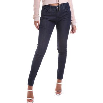 vaatteet Naiset Slim-farkut Gas 355652 Sininen