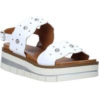 kengät Naiset Sandaalit ja avokkaat Grunland SA2545 Valkoinen