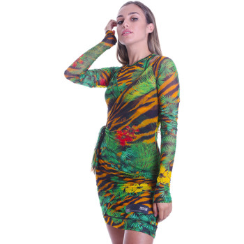 vaatteet Naiset Lyhyt mekko Versace D2HVB495S0782983 Musta