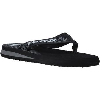 kengät Miehet Varvassandaalit Lotto L52287 Musta