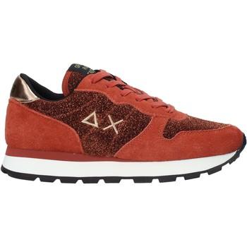 kengät Naiset Matalavartiset tennarit Sun68 Z40205 Punainen