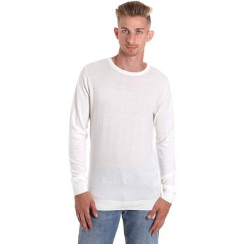 vaatteet Miehet T-paidat pitkillä hihoilla Sseinse ME1504SS Valkoinen