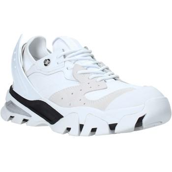 kengät Miehet Matalavartiset tennarit Calvin Klein Jeans B4S0665 Valkoinen