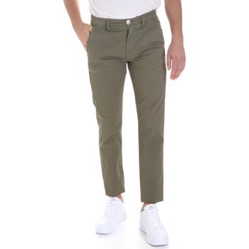 vaatteet Miehet Chino-housut / Porkkanahousut Sseinse PSE558SS Vihreä