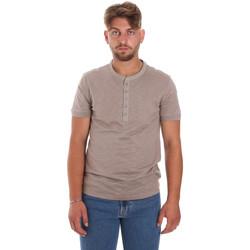 vaatteet Miehet Lyhythihainen t-paita Antony Morato MMKS01725 FA100139 Ruskea