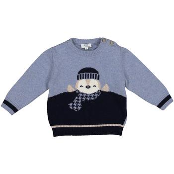 vaatteet Lapset Neulepusero Melby 20B0100 Sininen