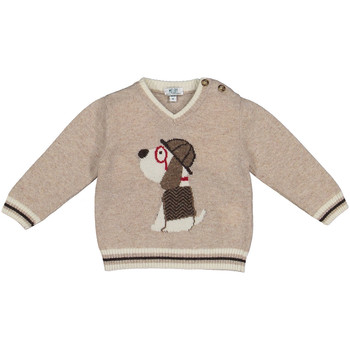 vaatteet Lapset Neulepusero Melby 20B2130 Beige