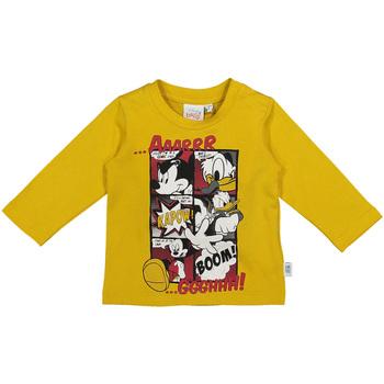vaatteet Lapset T-paidat pitkillä hihoilla Melby 20C2040DN Keltainen