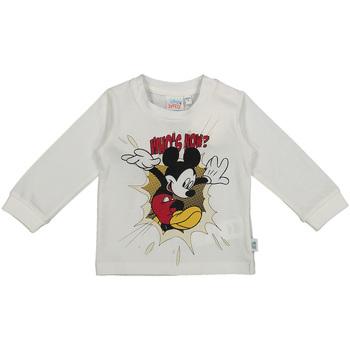 vaatteet Lapset T-paidat pitkillä hihoilla Melby 20C2101DN Valkoinen