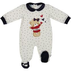 vaatteet Lapset Jumpsuits / Haalarit Melby 20N0681 Valkoinen