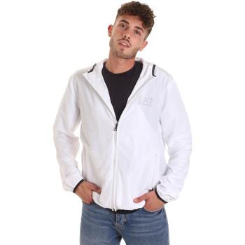 vaatteet Miehet Tuulitakit Ea7 Emporio Armani 8NPB04 PNN7Z Valkoinen