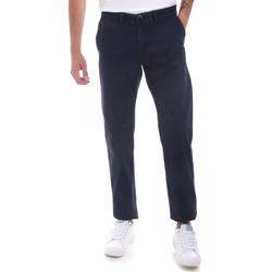vaatteet Miehet Chino-housut / Porkkanahousut Gaudi 821BU25007 Sininen