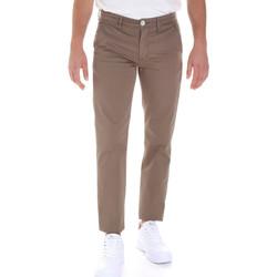 vaatteet Miehet Chino-housut / Porkkanahousut Sseinse PSE555SS Ruskea