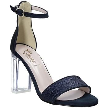 kengät Naiset Sandaalit ja avokkaat Grace Shoes 018TR003 Sininen