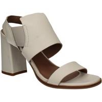 kengät Naiset Sandaalit ja avokkaat Mally 5228 Valkoinen