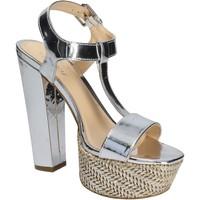 kengät Naiset Sandaalit ja avokkaat Byblos Blu 672135 Hopea