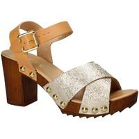 kengät Naiset Sandaalit ja avokkaat Keys 5864 Keltainen