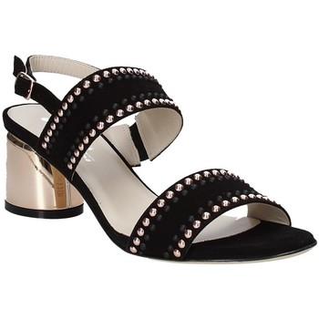 kengät Naiset Sandaalit ja avokkaat Melluso S553M Musta