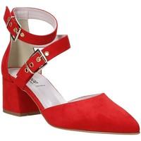 kengät Naiset Korkokengät Grace Shoes 774004 Punainen