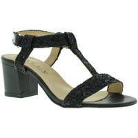 kengät Naiset Sandaalit ja avokkaat Mally 3895 Musta
