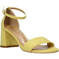 kengät Naiset Sandaalit ja avokkaat Grace Shoes 380008 Keltainen