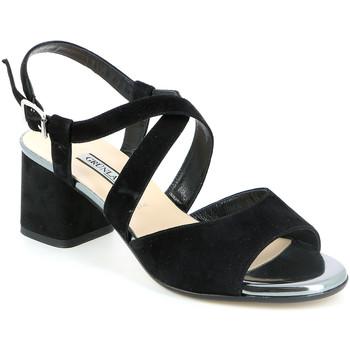 kengät Naiset Sandaalit ja avokkaat Grunland SA1426 Musta