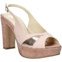 kengät Naiset Sandaalit ja avokkaat Grace Shoes JN 093 Vaaleanpunainen