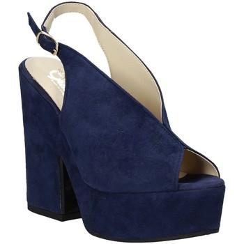 kengät Naiset Sandaalit ja avokkaat Grace Shoes ALBA 107 Sininen
