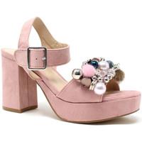 kengät Naiset Sandaalit ja avokkaat Onyx S19-SOX467 Vaaleanpunainen