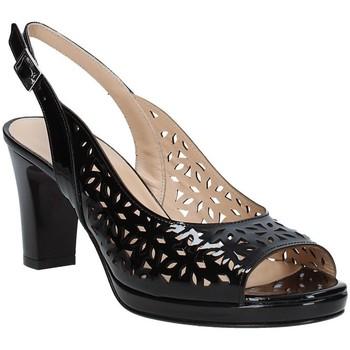 kengät Naiset Sandaalit ja avokkaat Soffice Sogno E9390 Musta