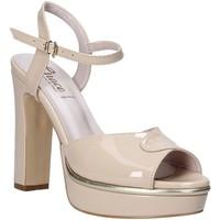 kengät Naiset Sandaalit ja avokkaat Grace Shoes 5753003 Beige