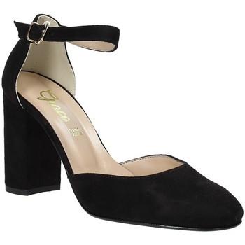 kengät Naiset Sandaalit ja avokkaat Grace Shoes 949002 Musta