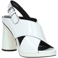 kengät Naiset Sandaalit ja avokkaat Elvio Zanon EJ4408N.C Valkoinen