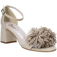 kengät Naiset Sandaalit ja avokkaat Grace Shoes 380020 Beige