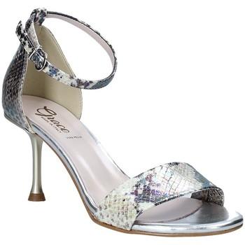 kengät Naiset Sandaalit ja avokkaat Grace Shoes 492G001 Harmaa