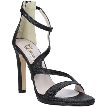 kengät Naiset Sandaalit ja avokkaat Grace Shoes 2383007 Musta