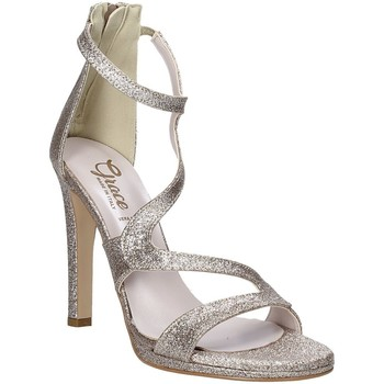 kengät Naiset Sandaalit ja avokkaat Grace Shoes 2383003 Beige