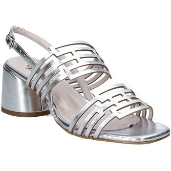 kengät Naiset Sandaalit ja avokkaat Grace Shoes 123001 Hopea