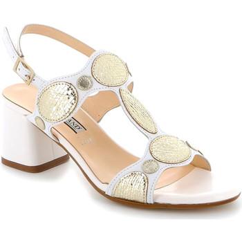 kengät Naiset Sandaalit ja avokkaat Grunland SA2513 Valkoinen
