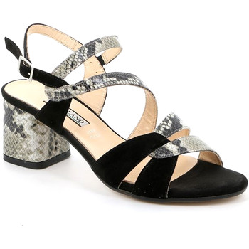 kengät Naiset Sandaalit ja avokkaat Grunland SA2515 Musta