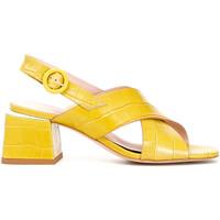 kengät Naiset Sandaalit ja avokkaat Café Noir LF124 Keltainen