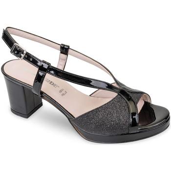 kengät Naiset Sandaalit ja avokkaat Valleverde 45373 Musta