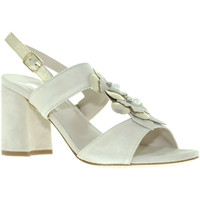 kengät Naiset Sandaalit ja avokkaat Melluso S521 Beige