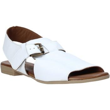 kengät Naiset Sandaalit ja avokkaat Bueno Shoes 9L2700 Valkoinen