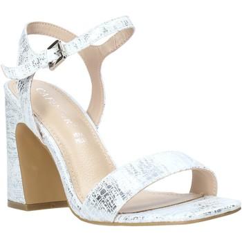 kengät Naiset Sandaalit ja avokkaat Café Noir LA926 Hopea