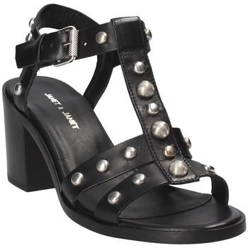 kengät Naiset Sandaalit ja avokkaat Janet&Janet 41409 Musta