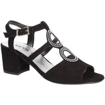 kengät Naiset Sandaalit ja avokkaat Keys 5713 Musta