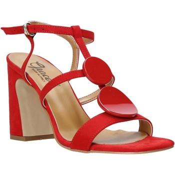 kengät Naiset Sandaalit ja avokkaat Grace Shoes 2384008 Punainen